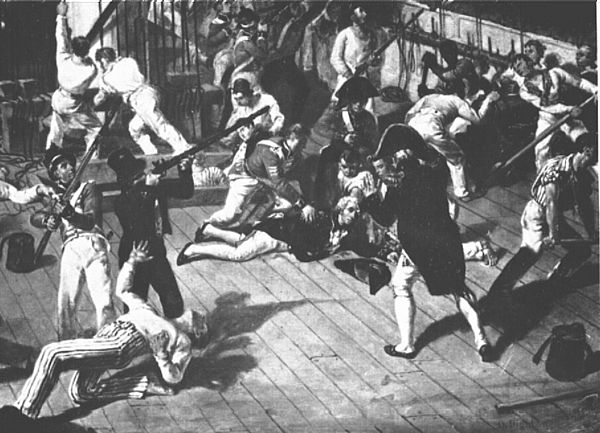 Nelson mortally wounded